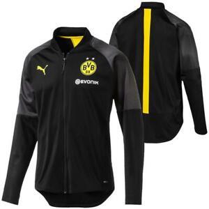 Puma-BVB-Borussia-Dortmund-Herren-Stadium-Poly-Jacket-Trainingsjacke