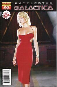 Battlestar Galactica #0,1; High Grade Dynamite Books; Photo Covers