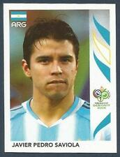 PANINI FIFA WORLD CUP-GERMANY 2006- #186-ARGENTINA-JAVIER PEDRO SAVIOLA