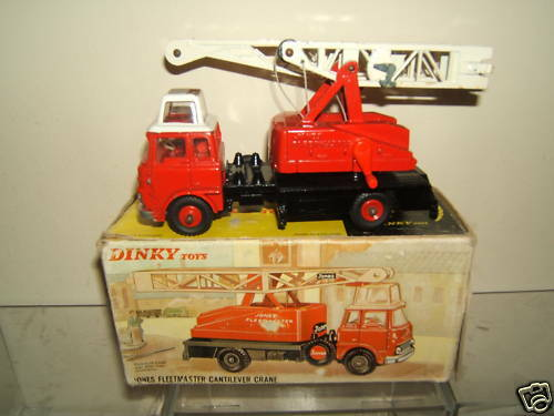 DINKY TOYS MODEL MODEL MODEL No.970 JONES FLEETMASTER CANTILEVER CRANE VN MIB cf6471