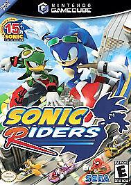 Sonic Riders Nintendo Gamecube 2006 For Sale Online Ebay