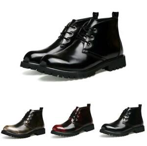 Rond Toe Leather Retro Shoes Chic