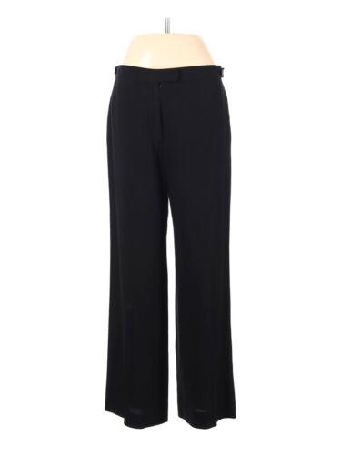 Ann Demeulemeester Women Black Dress Pants 40 eur