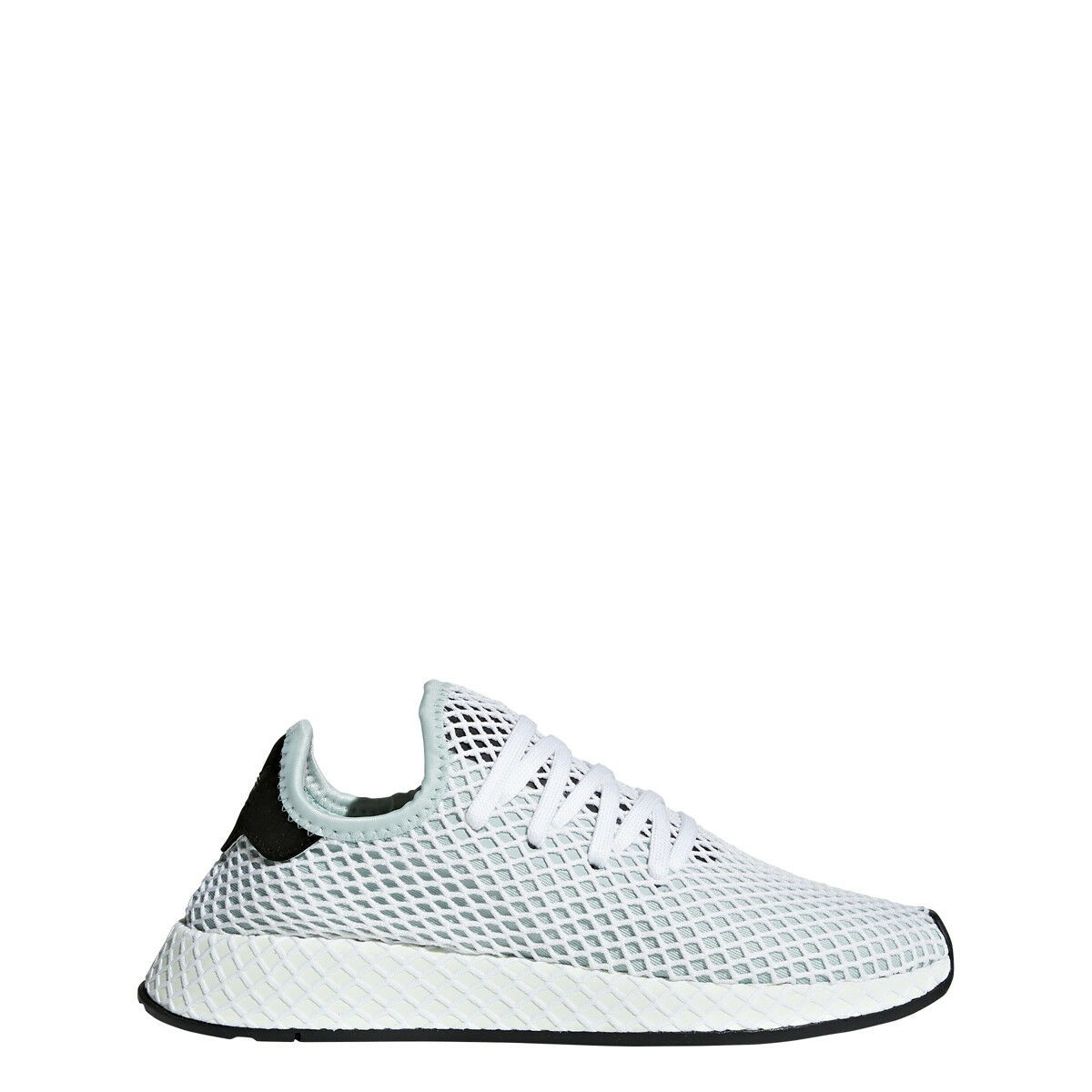 adidas Womens DEERUPT RUNNER W Green/Green/Black - CQ2911 New shoes for men and women, limited time discount