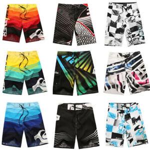 Men-039-s-Surf-Board-Shorts-Summer-Beach-Shorts-Pants-Swiming-Trunks-Swimsuit-30-38