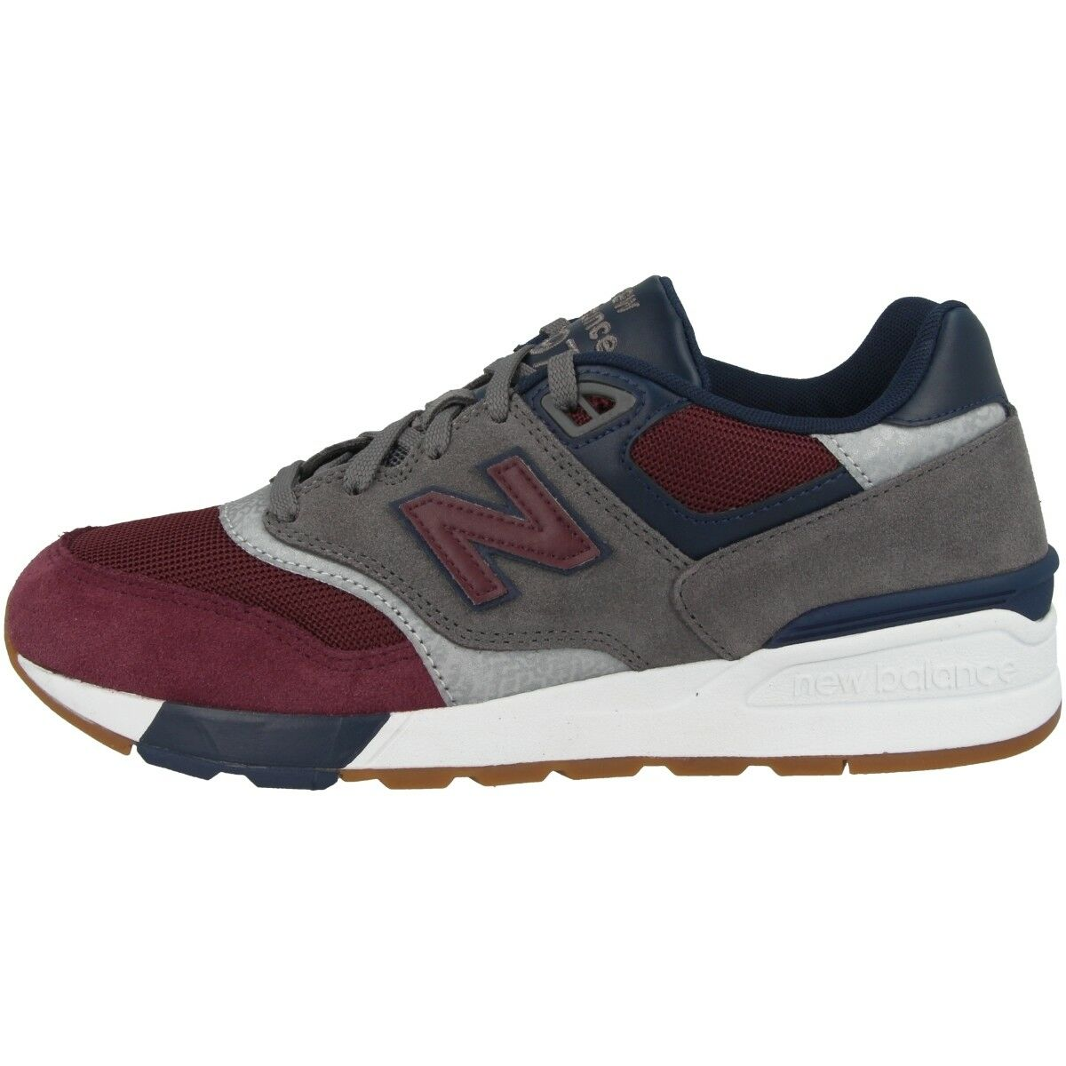 NEW Balance ML 597 BGN Scarpe Tempo Libero scarpe da ginnastica Scarpe da ginnastica grigio rosso ml597bgn | Stravagante  | Uomo/Donne Scarpa