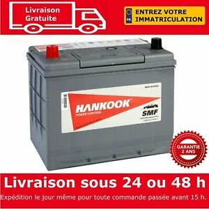 Hankook-57024-Batterie-de-Demarrage-Pour-Voiture-12V-70Ah-257-x-172-x-220mm