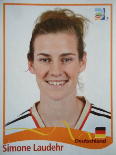 Panini Simone Laudehr Deutschland FIFA Frauen WM 2011 Germany