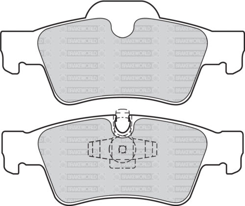 2009-11 REAR DISCS AND PADS FOR MERCEDES-BENZ M-CLASS ML350 3.0TD OEM FRONT