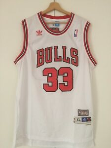 Canotta-nba-basket-Scottie-Pippen-jersey-Chicago-Bulls-Retro-maglia-S-M-L-XL-XXL