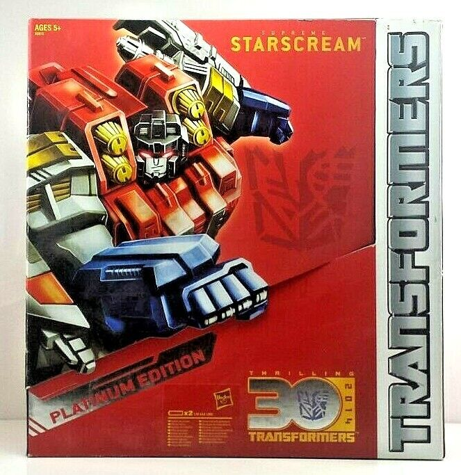 Supreme Starscream Supreme Class Transformer NEW in Box [SSPE1]