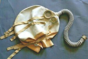 RARA ABC in gomma lattice antigas cappa testa protettore + FILTRO inutilizzato rarità