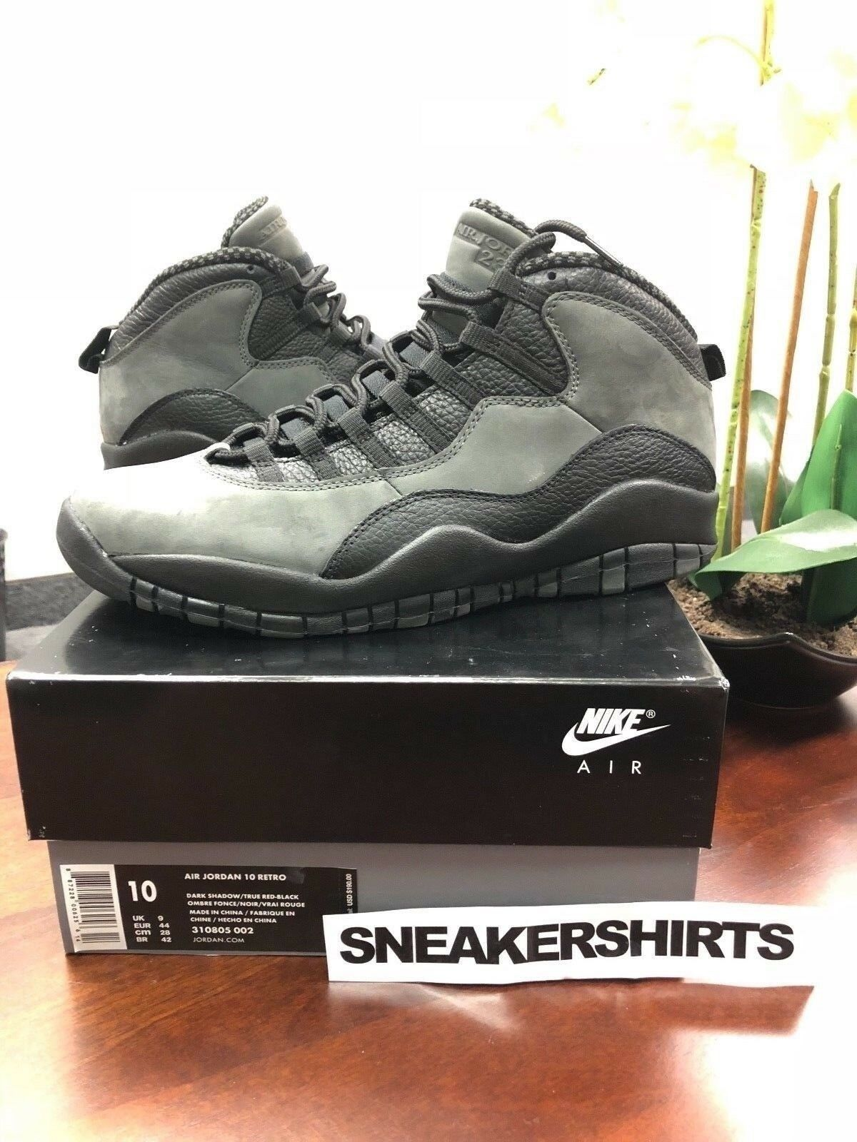 Jordan Retro 10 Dark Shadow OG 310805-002 Sz. 10
