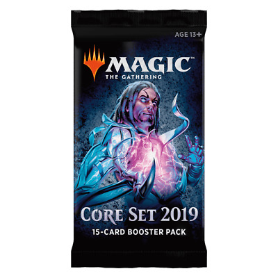 New Magic The Gathering Core Set 2019 15 Card Booster Pack x 4 Packs