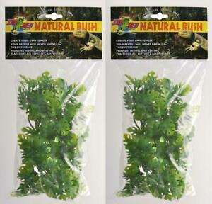 2-Pack-Zoo-Med-Natural-Bush-Amazonian-Phyllo-Plant-Small-14-Inch