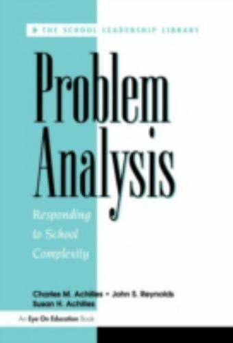Problem Analysis (School Leadership Library) by