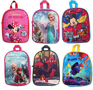 03add7c3f19f CHARACTER SCHOOL BAGS JUNIOR BACK PACK OFFICIAL BOYS GIRLS RUCKSACK ...