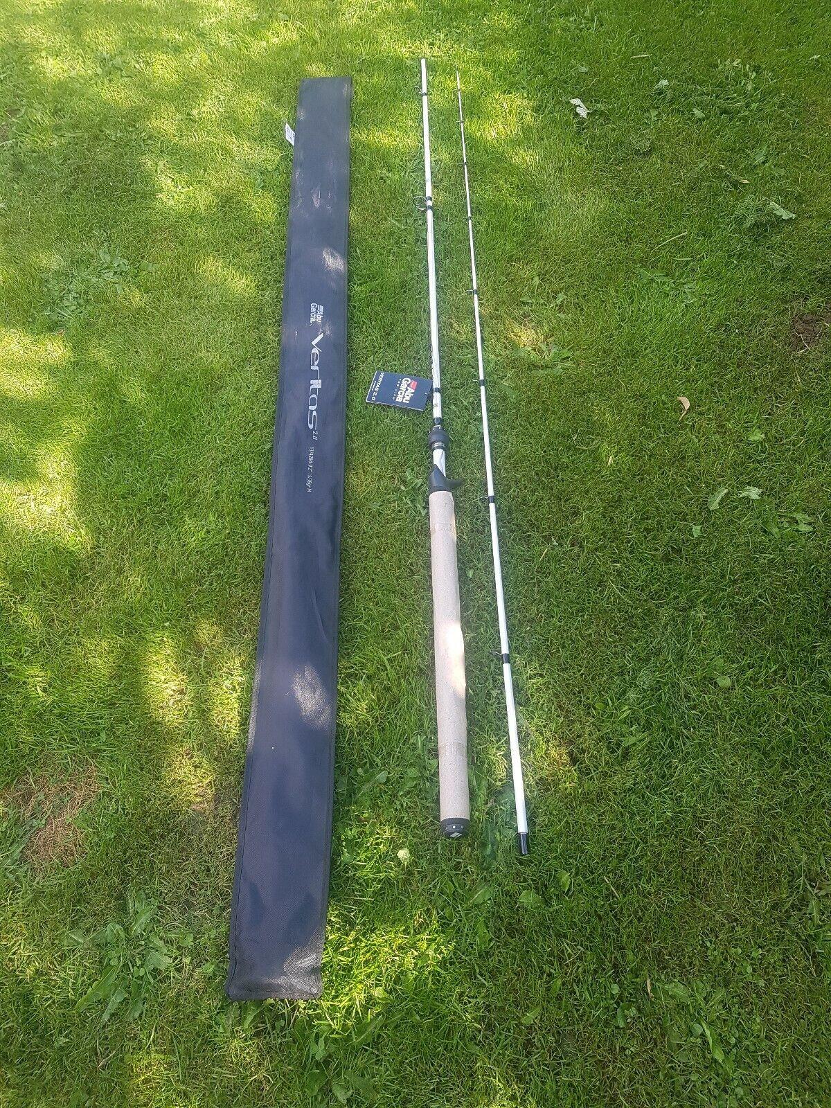Abu Garcia Veritas 2.0  Spinning Spin 2 Piece Fishing Rod,,10 32g length10ft 2in