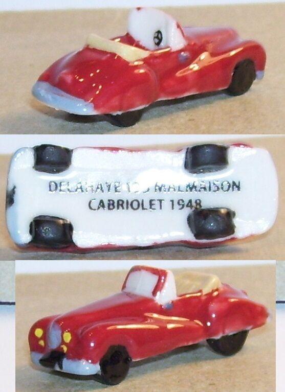 RARE CHARM 2014 DELAHAYE 135 MALMAISON CABRIOLET 1948 red FEVE PORCELAINE 3D