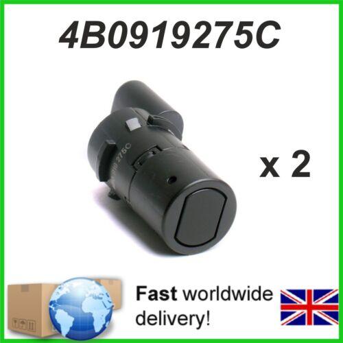 2 X Parking Sensor PDC  AUDI SEAT SKODA VW 4B0919275C  4B0 919 275 C