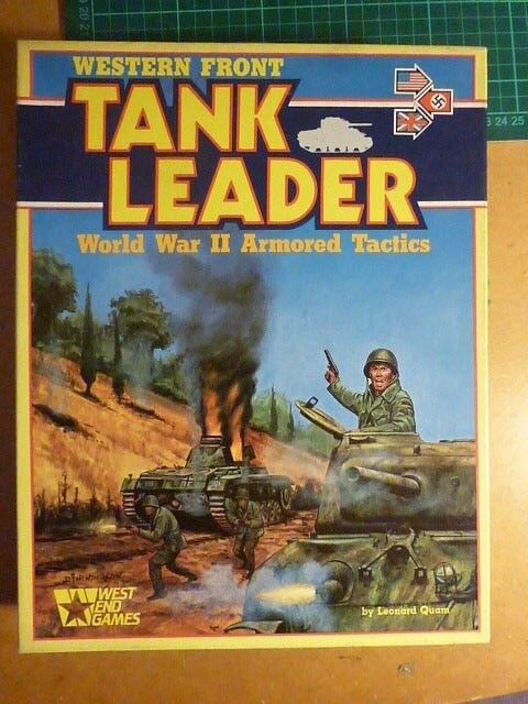 Western Front Tank Leader COMPLETE  by West End Games  Board War-game
