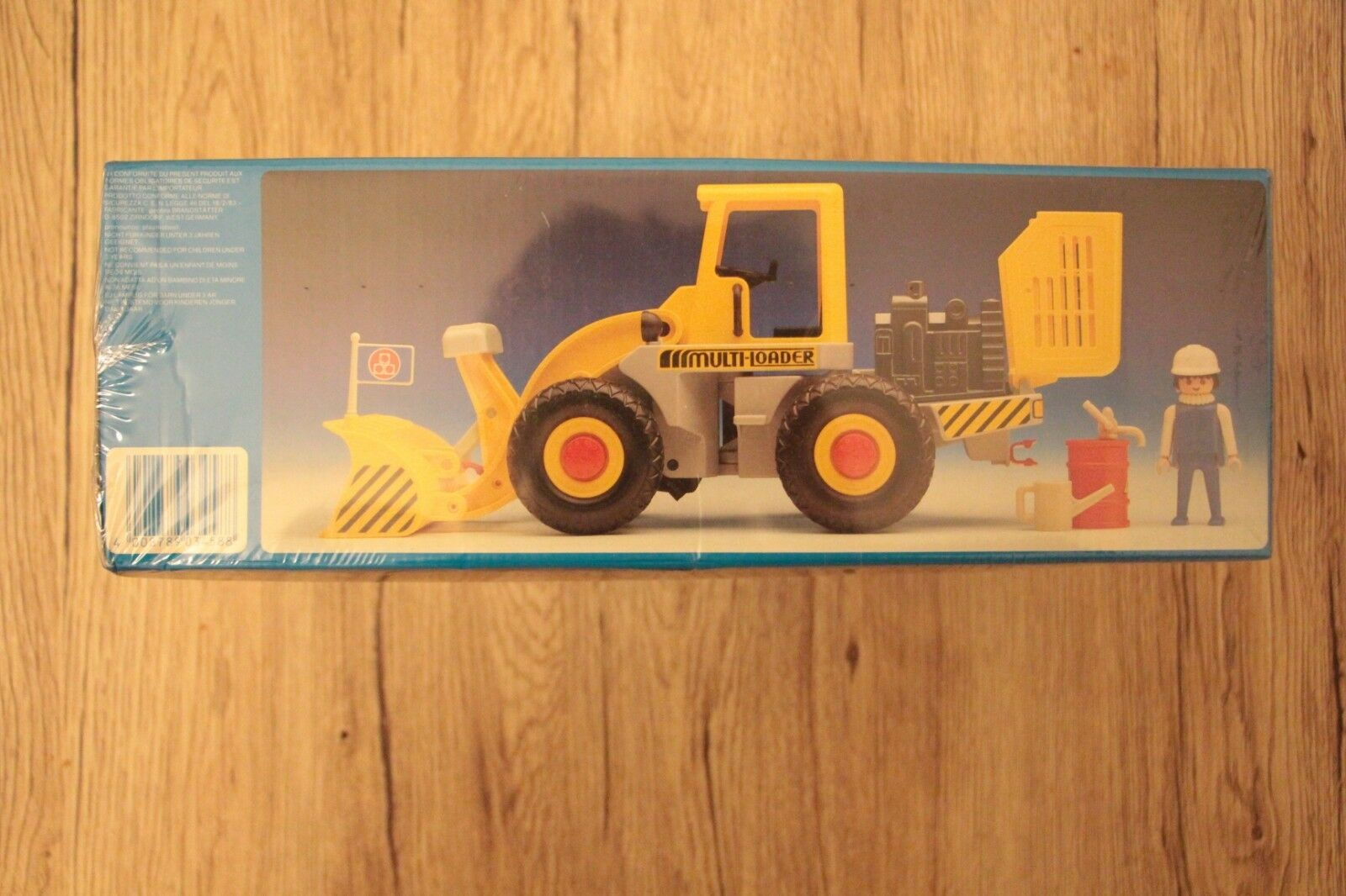 PLAYMOBIL 3458 EARTH MOVER TRUCK MADE IN GERMANY 1988    MIB  OVP  MIB  SPECIAL 3e14d0