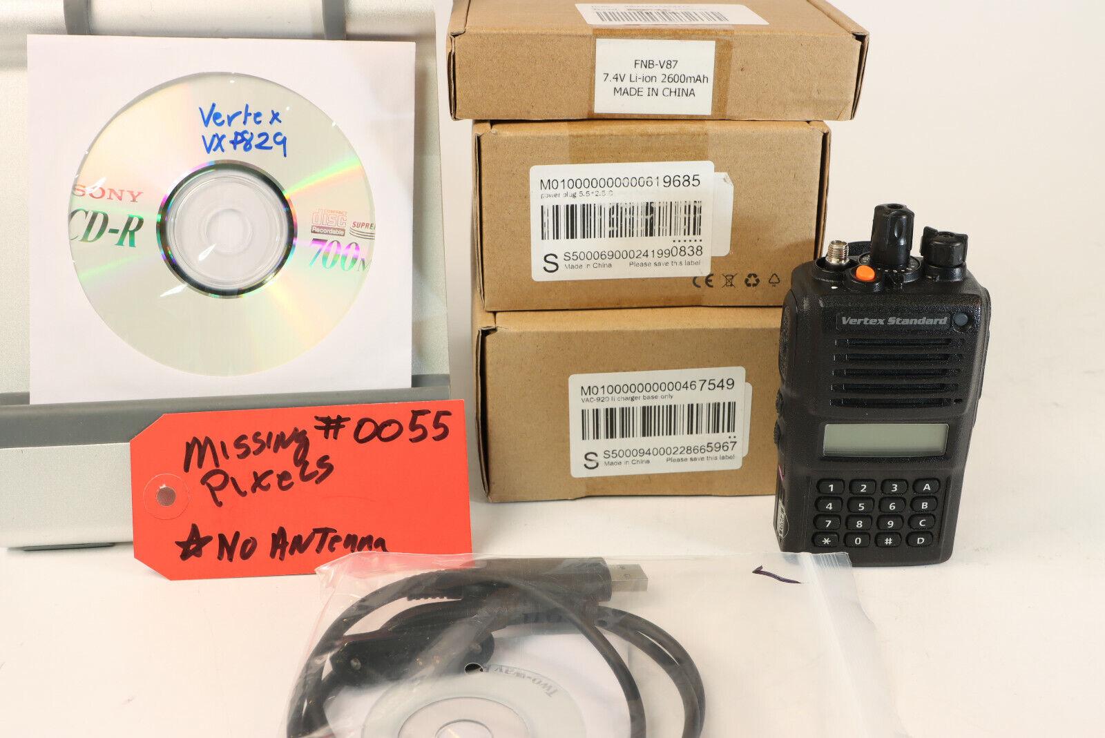 Vertex VX-P829 VHF 136-174MHz VXP829 P25 DES AES-256 #0055. Available Now for 199.99