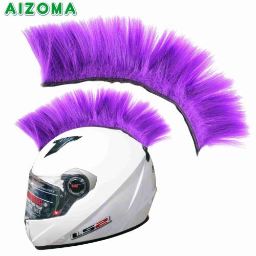 8 Colors Universal Motorcycle Racer Outdoor Sport Helmet Hair Mohawks Stickers
