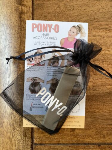 Pony-o Hair// Organza Bag And Instructions Booklet