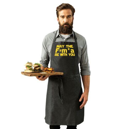 La fuerza puede estar contigo Divertido Broma Ciencia Ficción Geek Nerd Cocina Cocinar Delantal