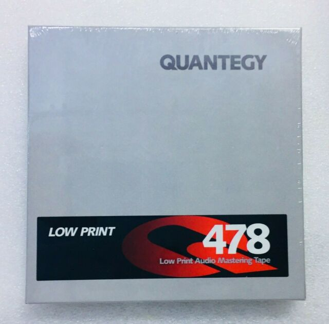 Quantegy Low Print 478 Audio Mastering Tape 1/4