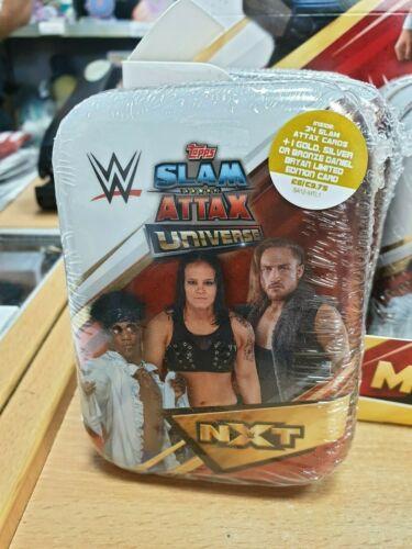 Wwe Slam Attax Univers Mini Tins 35 TRADING CARDS INC édition limitée