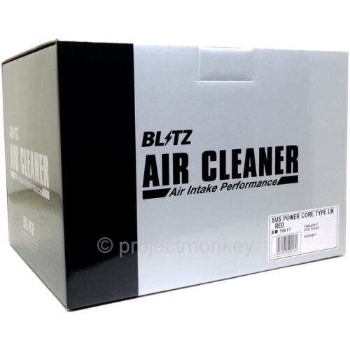 90-96 Nissan Fairlady Z 300ZX Z32 Blitz 59017 Power AIR Intake Filter Vermelho Compatível Com