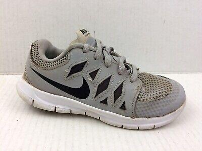 new styles d764b 43c8e Nike Free 5.0 644431-005 Boys 12.5 Toddler Grey Black White Running Shoe  Sneaker | eBay