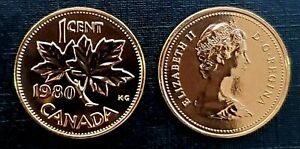 Canada-1980-Proof-Like-Gem-UNC-Small-Cent-Penny