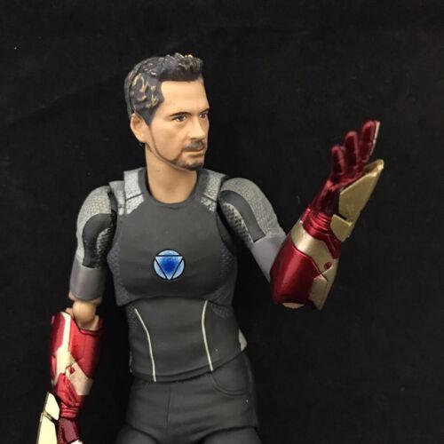 17cm Tony Stark Iron Man 3 Avengers PVC Action Figure Collectible Toy Model Gift