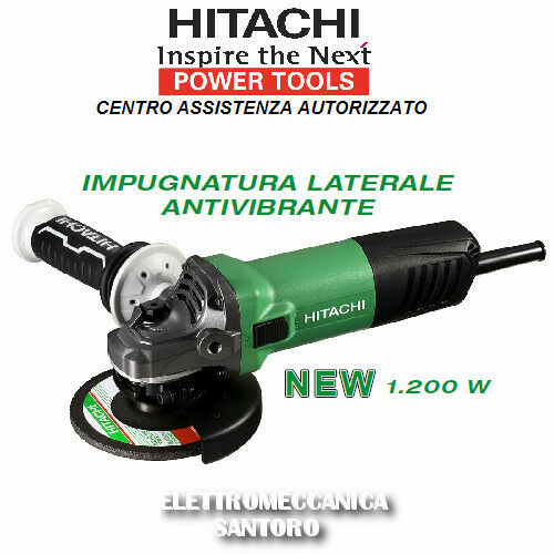 AMOLADORA ANGULAR G13SW ø 125 mm VATIO 1200 HITACHI