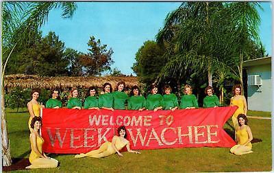 FL-w misc* WEEKI WACHEE FLORIDA MERMAIDS ADAGIO