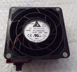 Details about Delta PFC0912DE 90X90X38MM DC12V 3 72A server inverter  cooling fan 81Y7481@An11