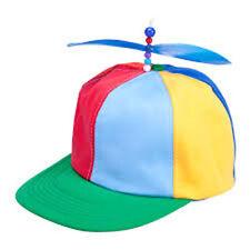 item 6 Propeller Cap Pride Hat Helicopter Rainbow Tweedle Dee Dum Fancy  Dress Stag - Propeller Cap Pride Hat Helicopter Rainbow Tweedle Dee Dum  Fancy Dress ... 00b2e4c2e728