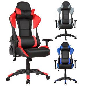Buerostuhl-Gaming-Chefsessel-Schreibtischstuhl-Drehstuhl-Racer-Racing-PC-stuhl