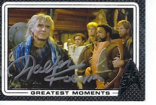 WALTER KOENIG SIGNED 2017 STAR TREK 50 ANNIV GREATEST MOMENTS #82 CHEKOV