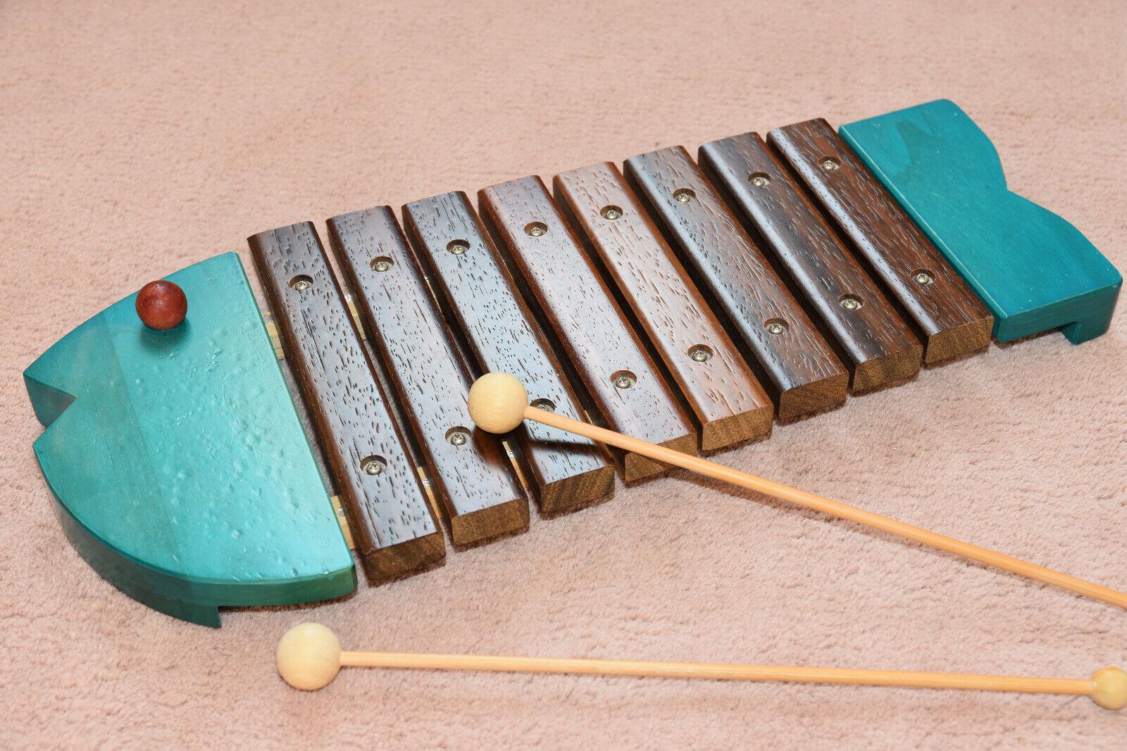 Rar Musik Xylophone Japanisches Spielzeug hochwertig BORNELUND+2 Schlägel