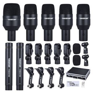 TAKSTAR-DMS-D7-Professional-Instruments-Drum-Set-Wired-Microphone-Mic-Kit