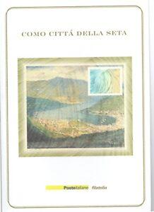ITALIA-FOLDER-2001-COMO-CITTA-039-DELLA-SETA-VALORE-FACCIALE-15-00