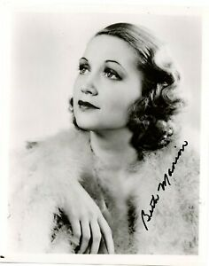 Beth-Marion-Actress-Vintage-B-amp-W-Photograph-Signed