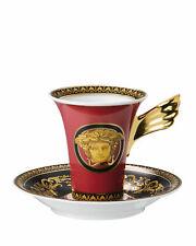 Rosenthal Versace Medusa Red Teacup & Saucer Set for sale | eBay