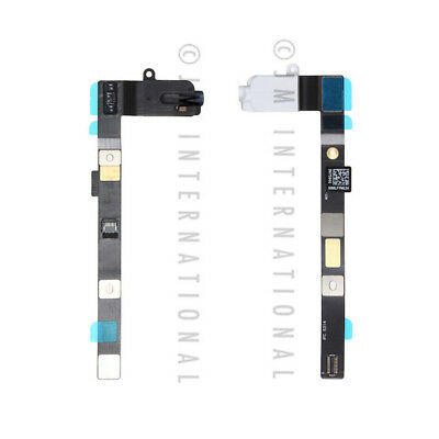 Black iPad Mini 4 Headphone Jack Audio Jack Flex Cable A1538 A1550 White