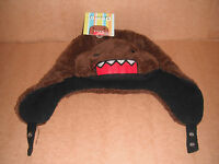 Domo Kun Face Chin Strap Aviator Hat Anime