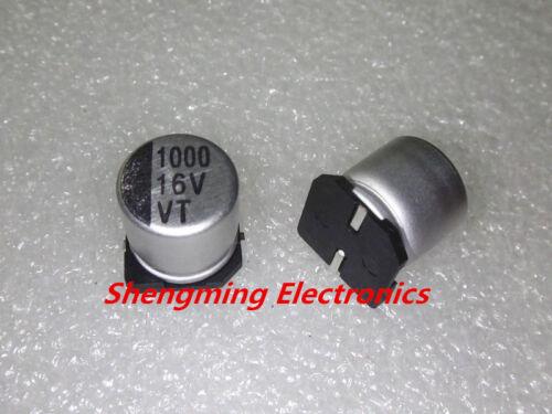20pcs 1000uF 16 V SMD Puce 10x10 Aluminium condensateur électrolytique 10*10mm
